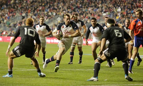 Cam Dolan attacks the New Zealand Maori for the USA