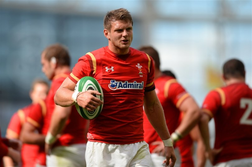 29.08.15 - Ireland v Wales - Guinness Summer Series -Dan Biggar of Wales.