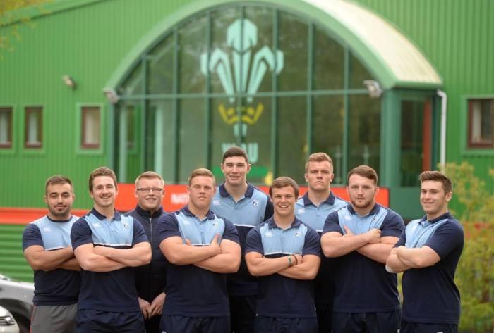 Wales U20 players