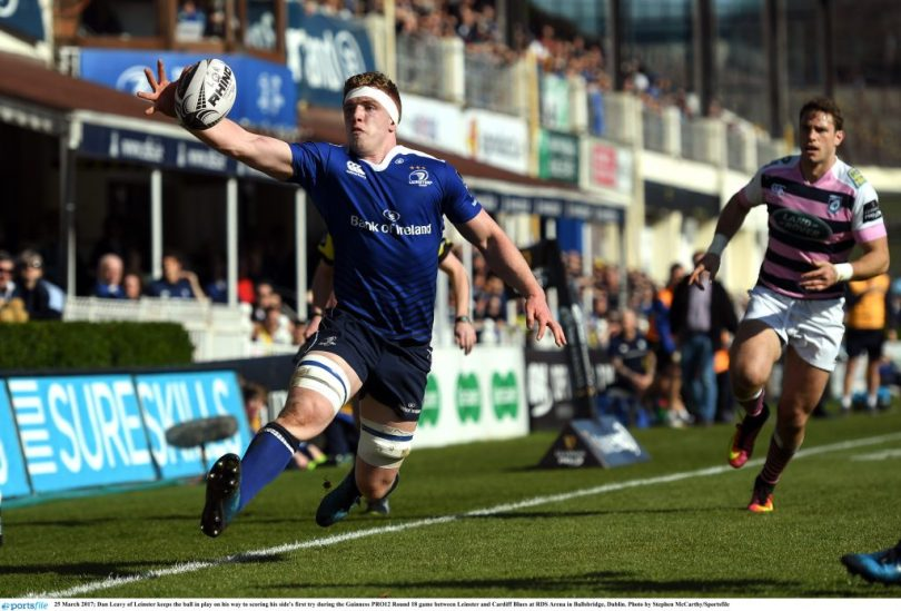 Dan Leavy Leinster