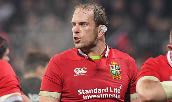 Alun Wyn Jones Lions