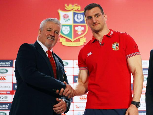 Sam Warburton Lions Captain