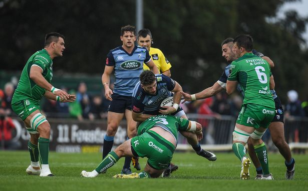 Alex Cuthbert Connacht