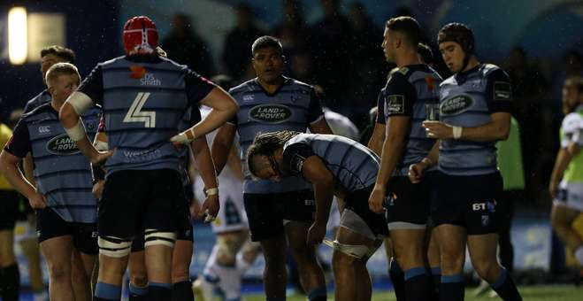 Cardiff Blues team Glasgow