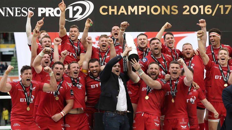 Scarlets Pro12 champions