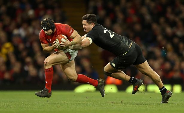 Leigh Halfpenny New Zealand