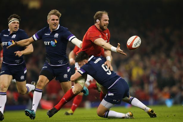 Alun Wyn Jones Scotland