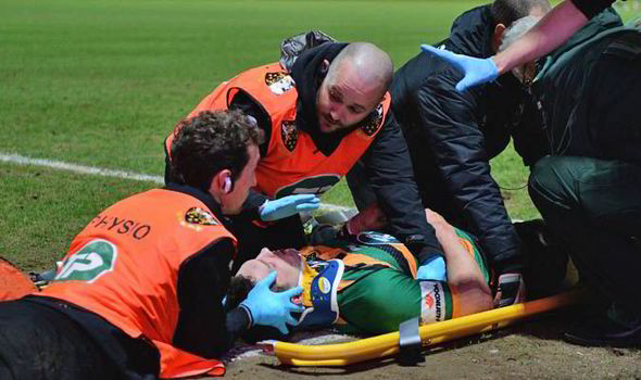 George North injury