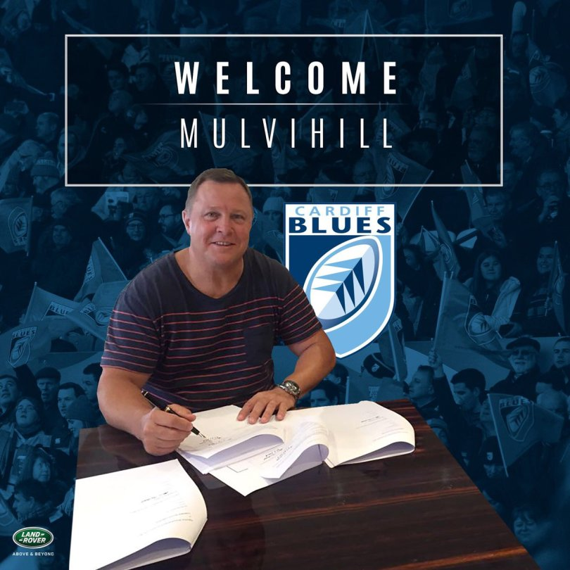 John Mulvihill Cardiff Blues