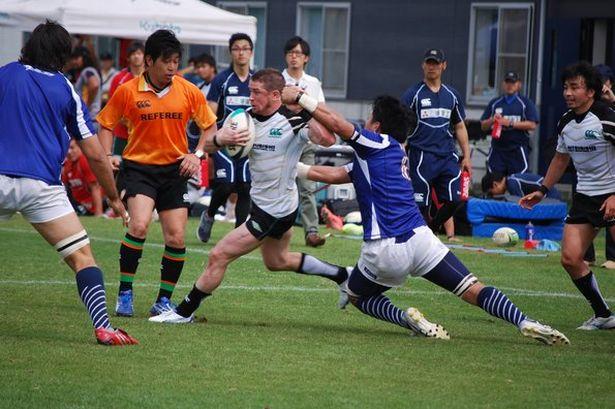 Shane Williams Japan