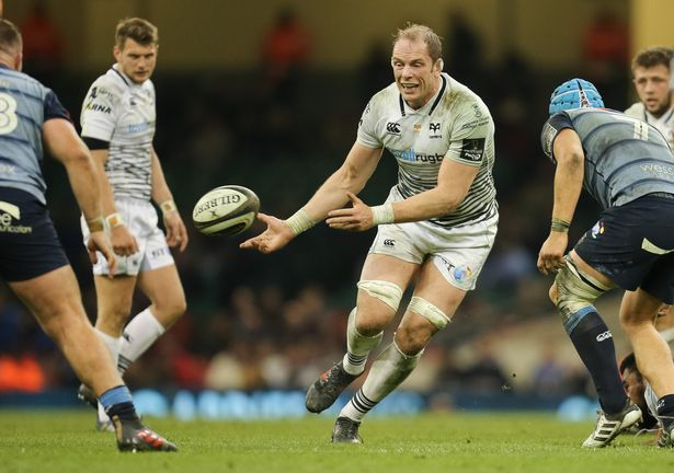 Alun Wyn Jones Ospreys