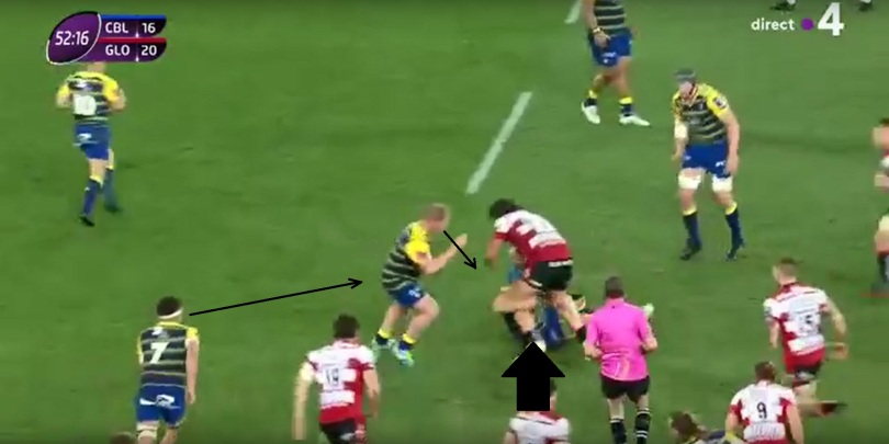 Gloucester tackle height 6
