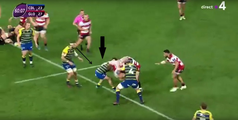Gloucester tackle height 7