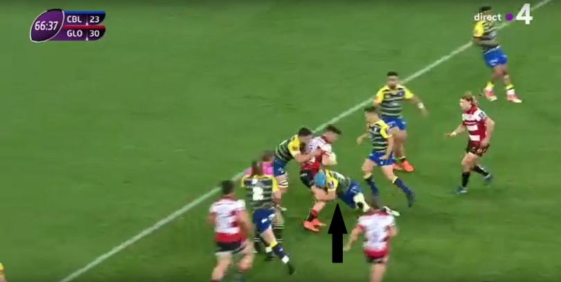 Gloucester tackle height 8