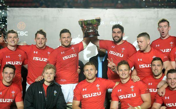 Ellis Jenkins Wales trophy