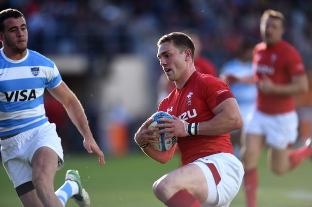 George North Argentina