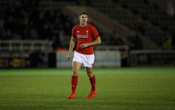 Max Llewellyn Wales U20