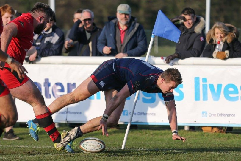 Jason Harries London Scottish