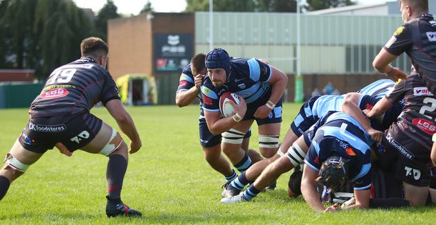 Alun Lawrence Cardiff Blues A