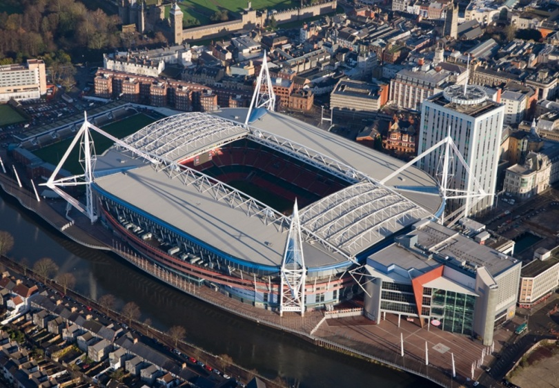 Cardiff Arms Park Millennium Stadium