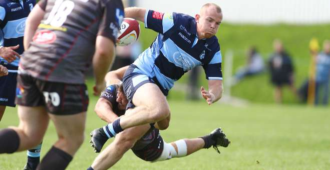 Dan Fish Cardiff Blues A