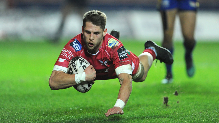 Tom Williams Scarlets