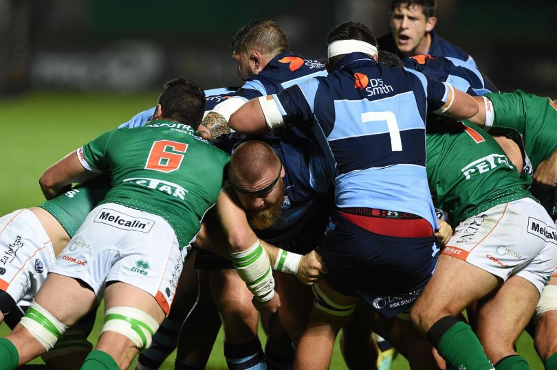 Benetton Cardiff Blues maul