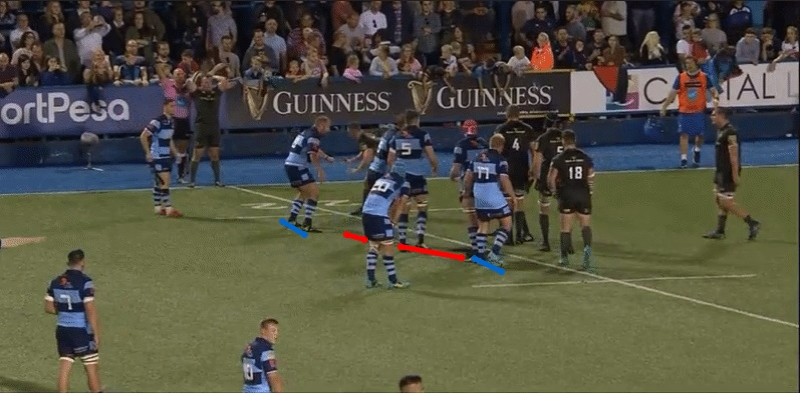 Lineout maul analysis 76