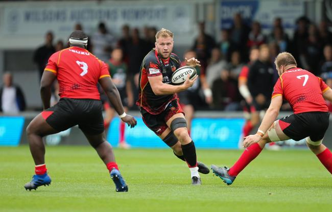 Ross Moriarty Dragons
