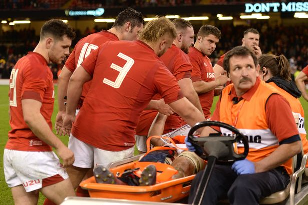 Ellis Jenkins South Africa injury 2