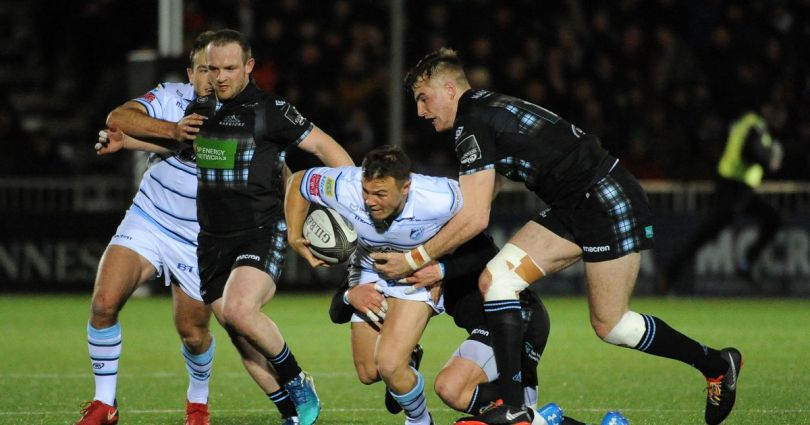 Jarrod Evans Glasgow Warriors