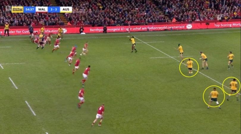 Wales kick analysis 23 follow up