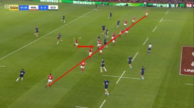 Wales kick analysis 4