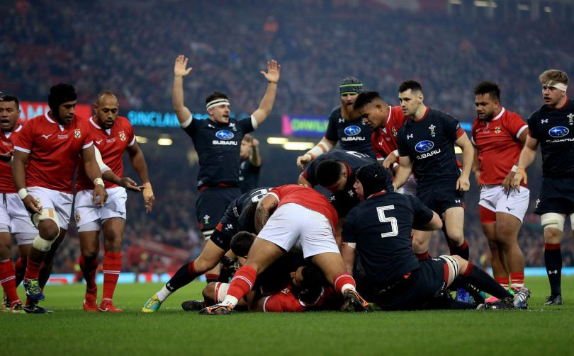 Wales team Tonga