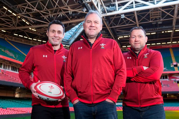 Wayne Pivac Stephen Jones Jonathan Humphreys