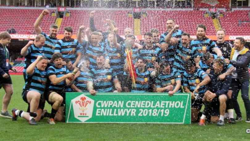 Cardiff RFC WRU National Cup champions