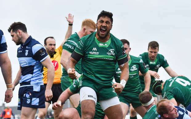 Connacht Bundee Aki