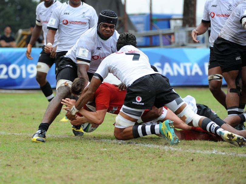 Dafydd Buckland Fiji U20
