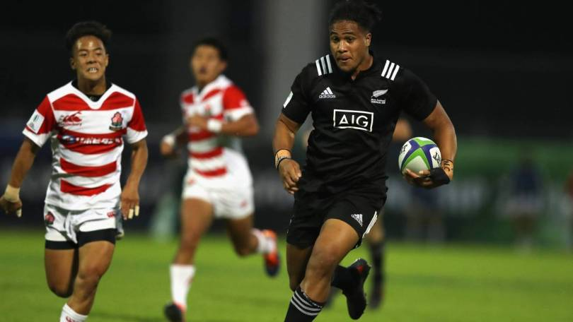 Leicester Faingaanuku New Zealand U20