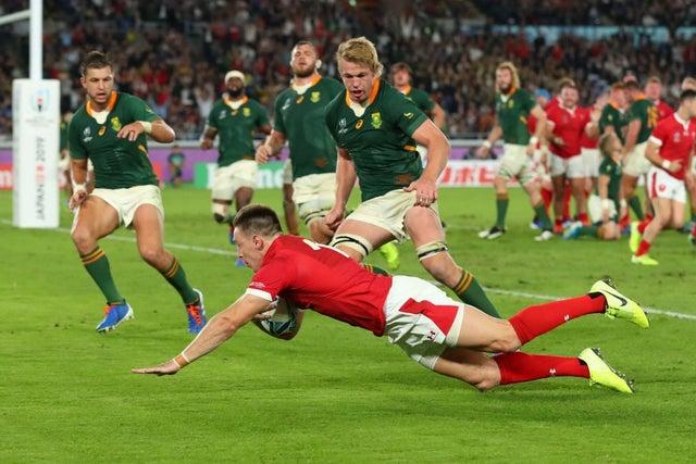 Josh Adams South Africa