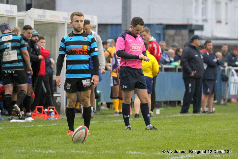 Gareth Thompson Bridgend RFC