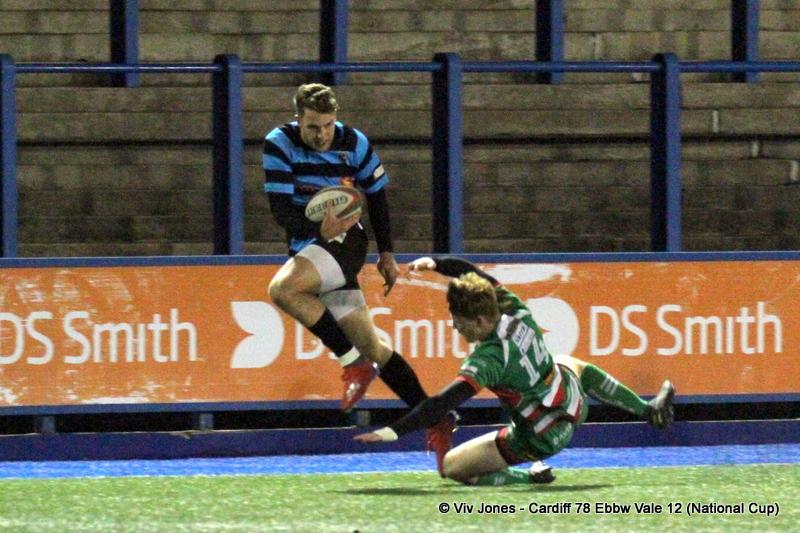 Max Llewellyn Ebbw Vale RFC