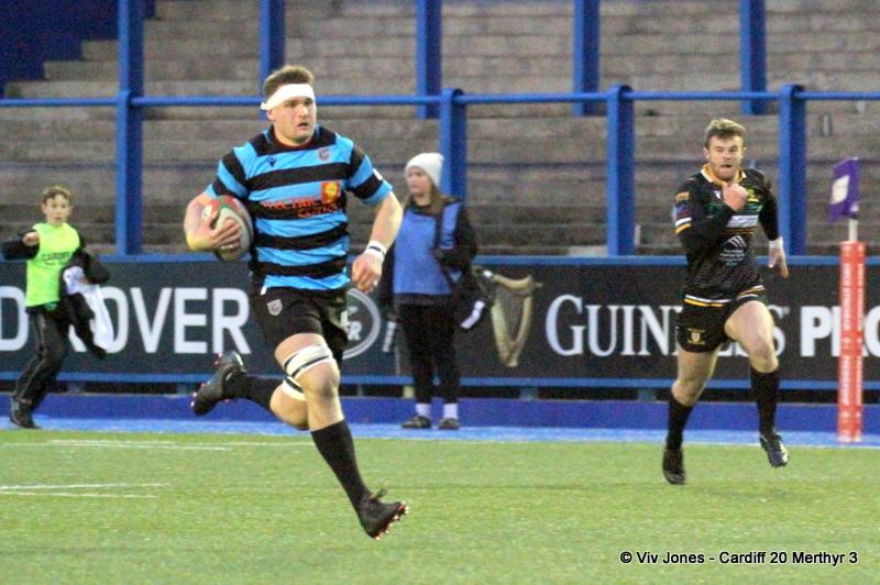 Alex Everett Merthyr RFC