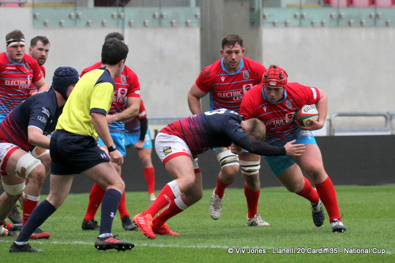 Will Davies-King Llanelli RFC
