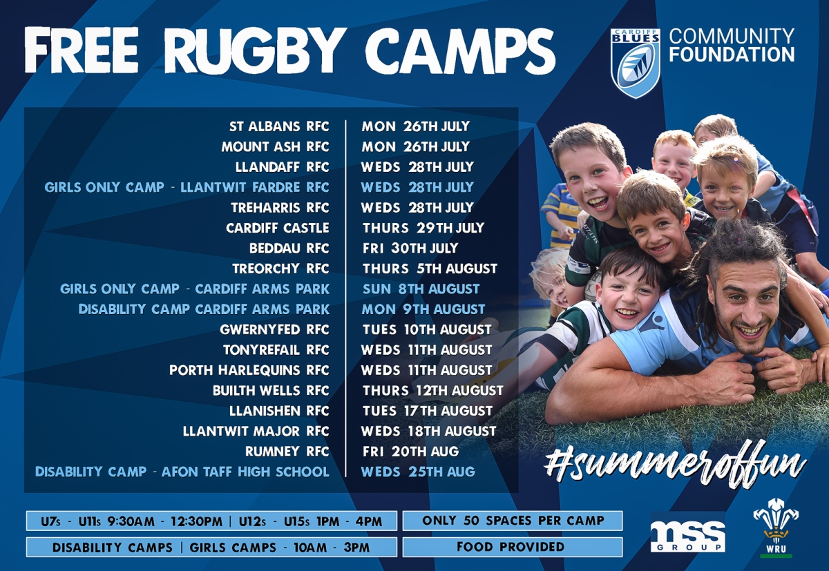 Community Foundation launch huge summer of rugby camps ...